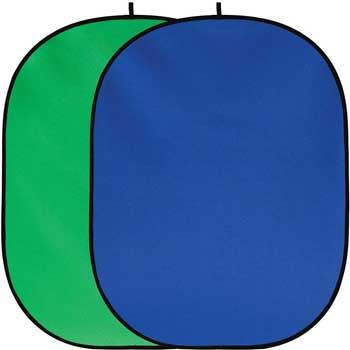 Green blue screen