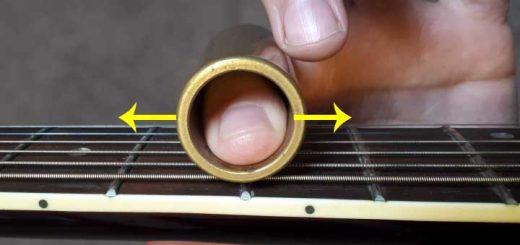 How to use a guitar slide