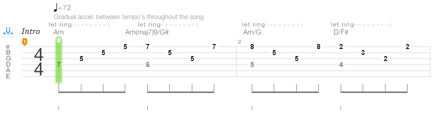 Songsterr Guitar TAB