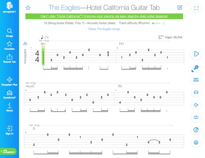 Best Free Guitar TAB Websites in 2019 - Guitar Gear Finder