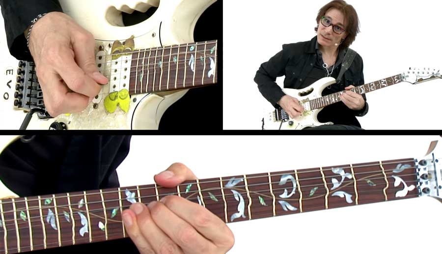 Steve Vai True Temperament frets guitar