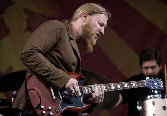 Derek Trucks guitar slide