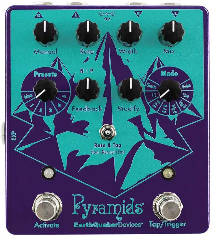 EarthQuakerDevices Pyramids Flanger