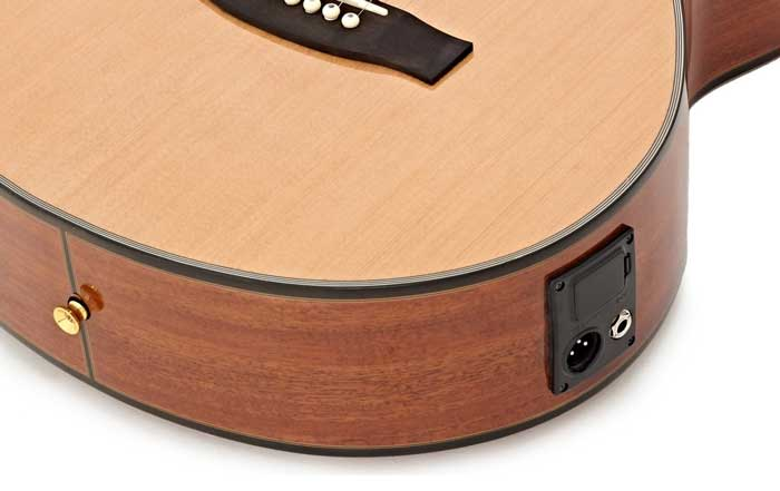 Electro-acoustic guitar jack