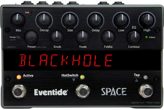 Eventide Space Reverb for acoustic guitar
