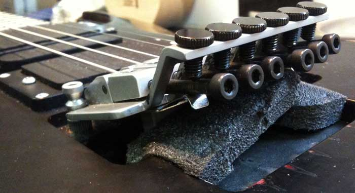 Floyd Rose bridge high action