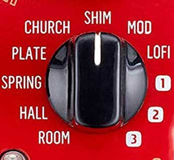 Hall of Fame 2 reverb types