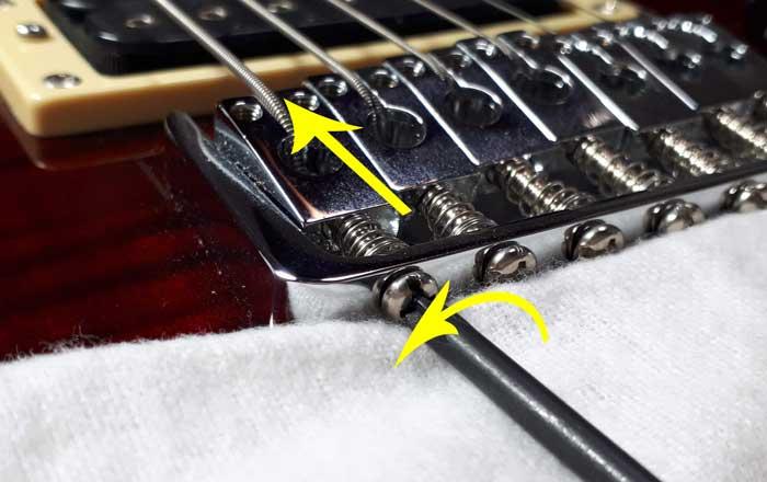 Decrease string length intonation