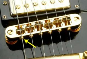 Gibson bridge intonation