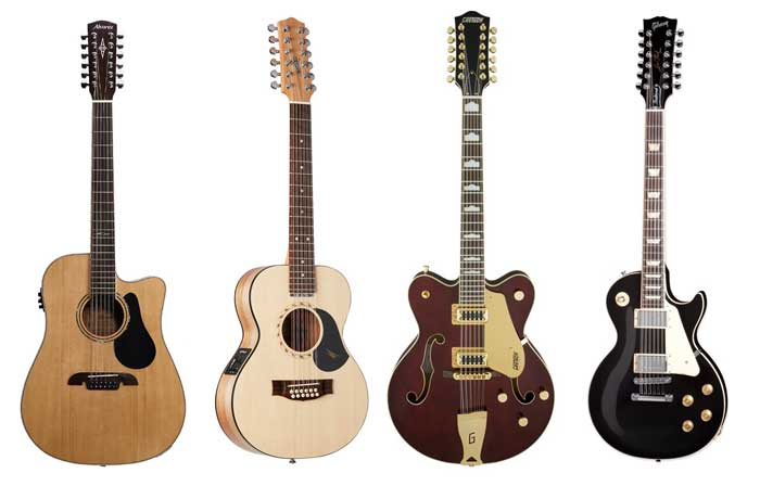 Types of 12 string guitars