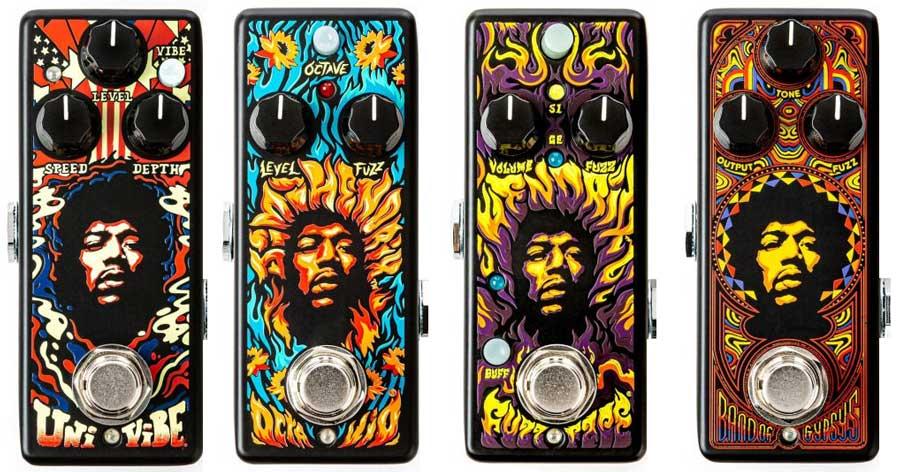 Dunlop Jimi Hendrix Pedals
