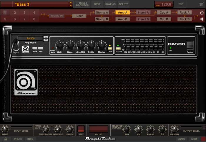 Bass AmpliTube 4