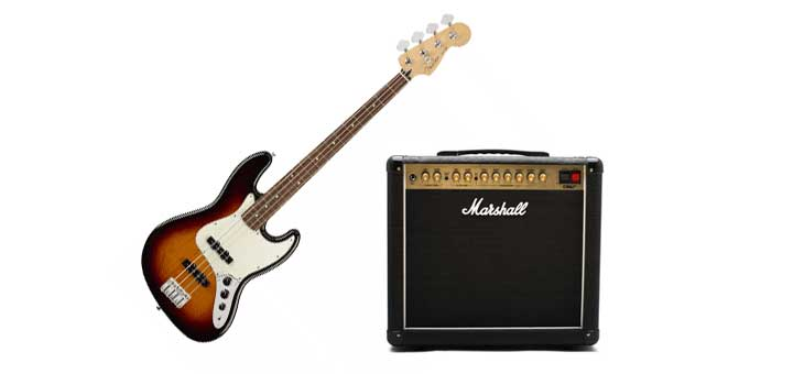 Can a guitar amp play bass