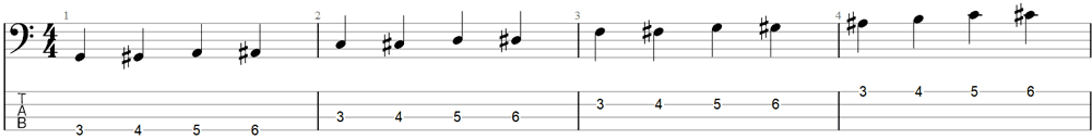 Bass Exercise 1