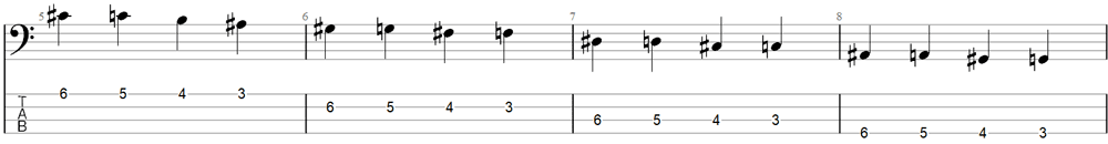 Bass Exercise 1b