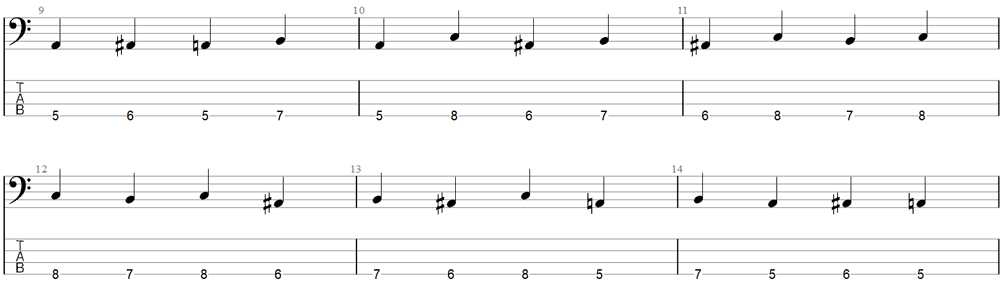 Bass Exercise 2