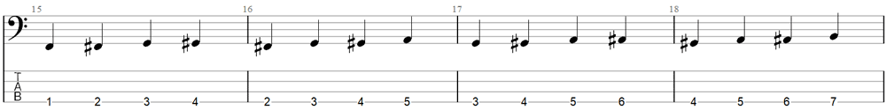 Bass Exercise 3a