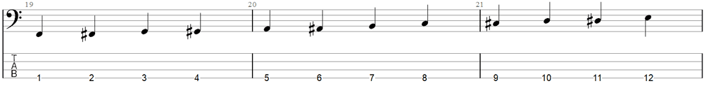 Bass Exercise 3b