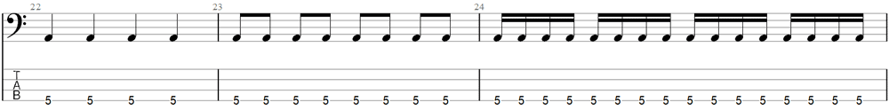 Bass Exercise 4