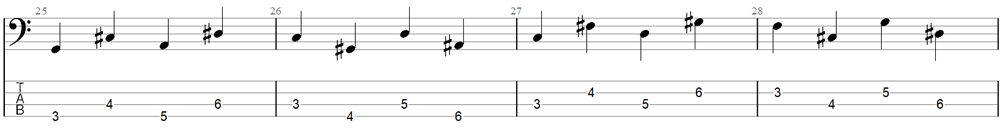 Bass Exercise 5