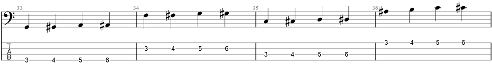 Bass Exercise 6b