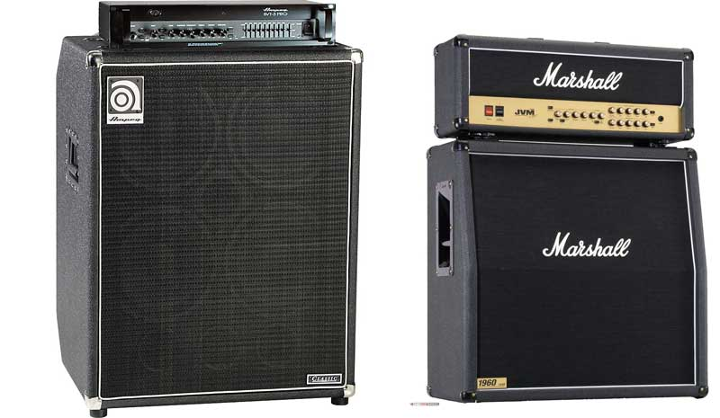 Bass vs Guitar Stack Amps