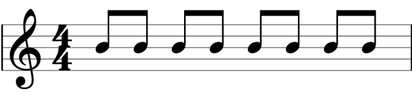 Eighth notes