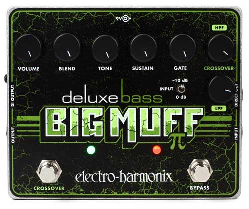 EHX Deluxe Bass Big Muff Pi Pedal