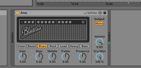 Ableton Amp plugin