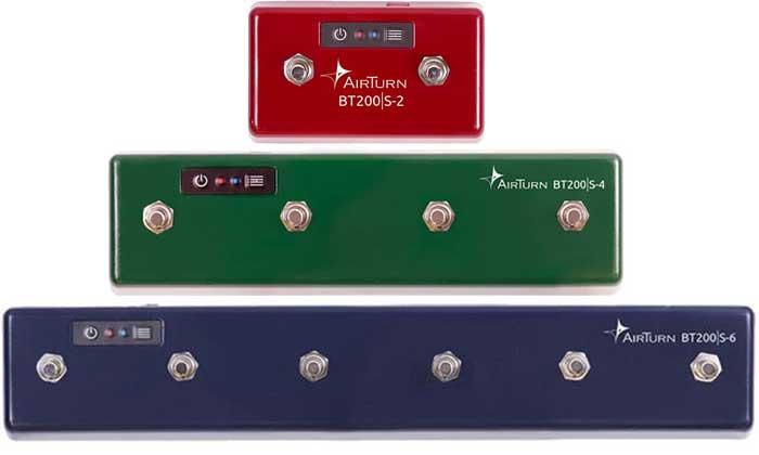 Airturn Bluetooth MIDI controllers