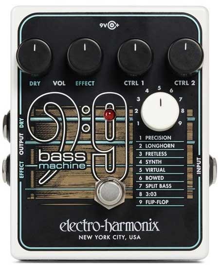 EHX BASS9 Bass Machine Pedal