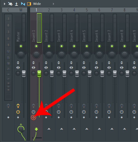 FL Studio arm track for recording