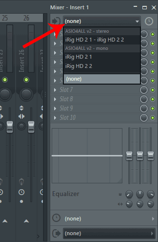 FL Studio recording devices