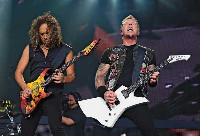 Metallica rhythm vs lead