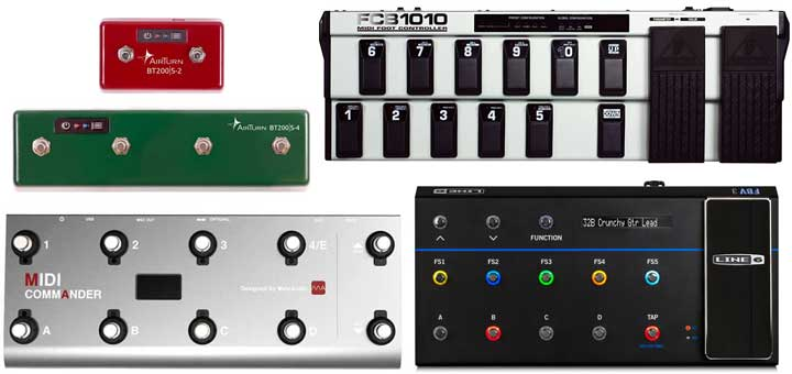 MIDI Controllers for Guitar