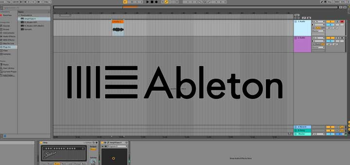 How to record guitar in Ableton Live