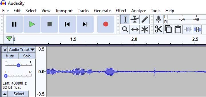 How to record guitar in Audacity