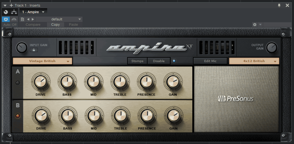 Studio One Ampire plugin