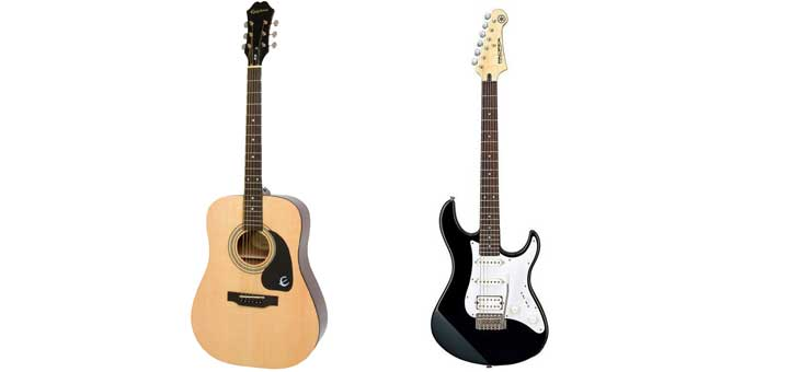 Acoustic vs Electric Guitars