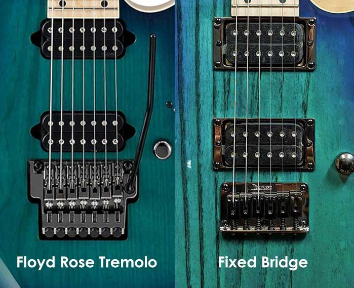 Floyd Rose vs Fixed Bridge guitars