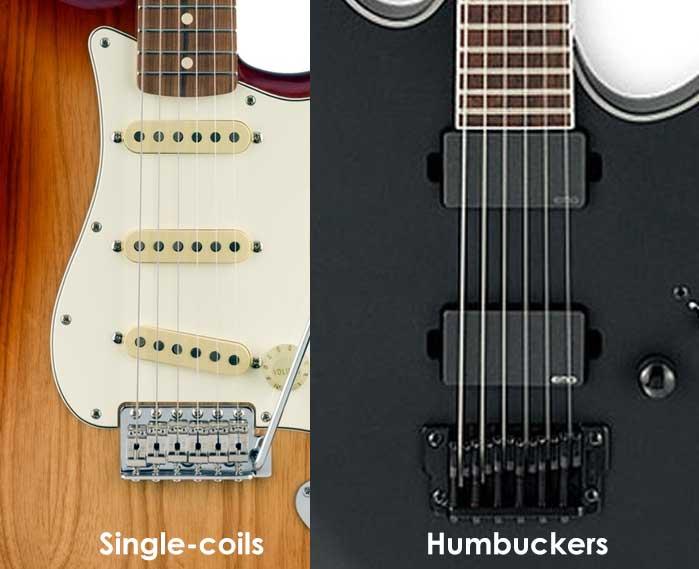 Single-coil vs Humbucker pickups