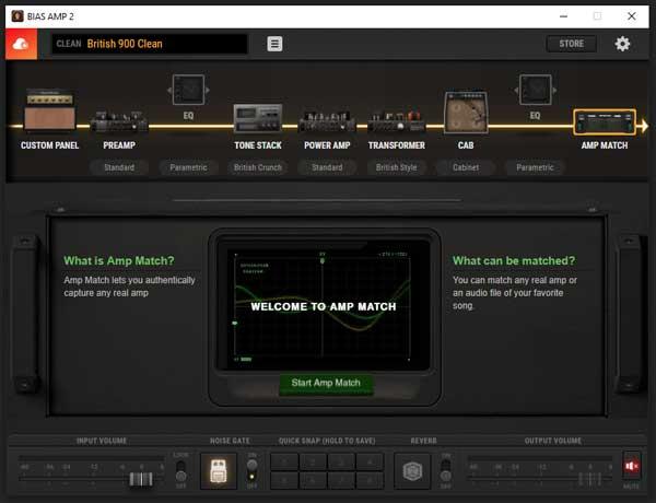 BIAS AMP 2 amp matching