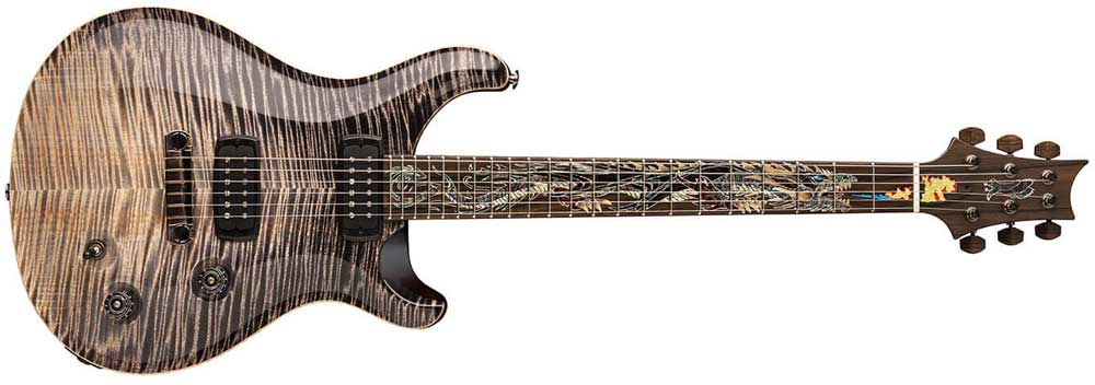 PRS dragon inlay