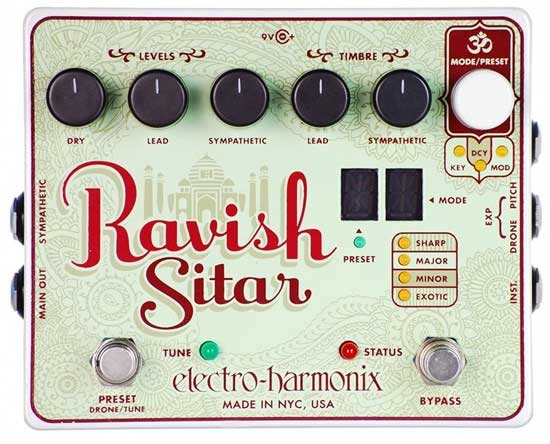Ravish sitar pedal