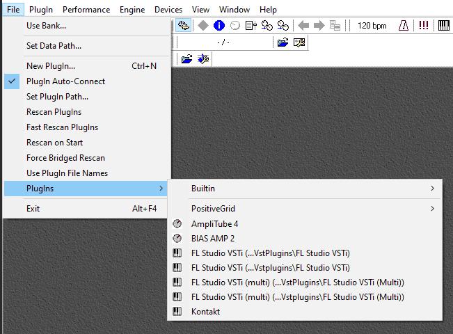 VSTHost Plugins