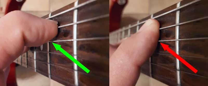 Fingertips guitar technique