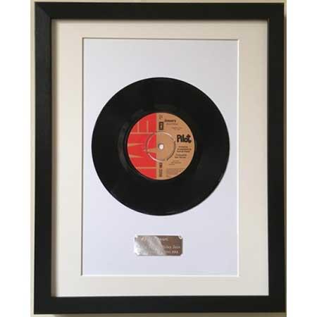 Framed vinyl record