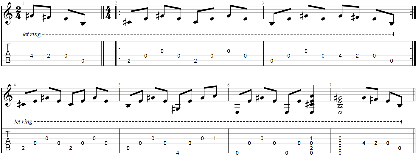 The Cave Guitar TAB Mumford and Sons