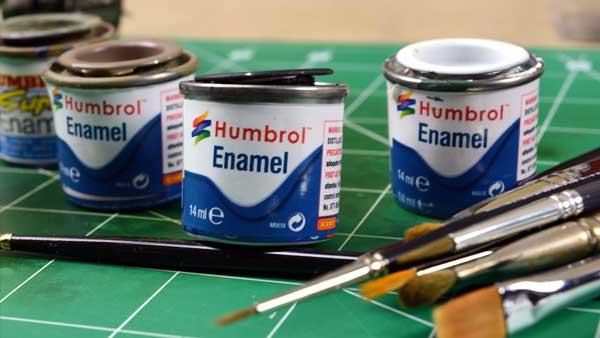 Humbrol swirl paints