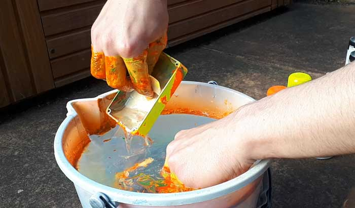 Hydro dip gloves